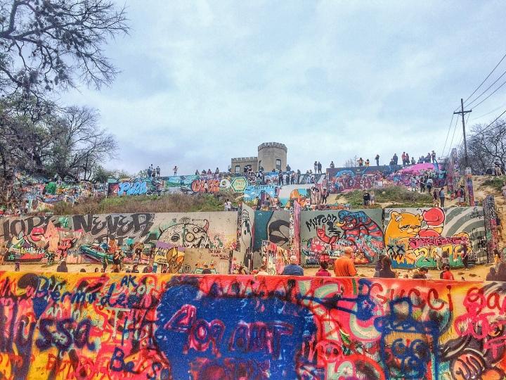Austin graffiti art park